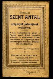 Páduai Szent Antal - Régikönyvek