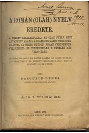A román (oláh) nyelv eredete - Régikönyvek