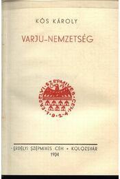 Varjunemzetség - Régikönyvek
