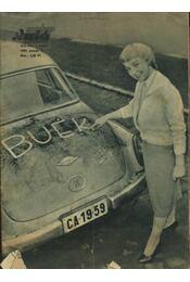 Autó-motor 1959. január-december - Régikönyvek