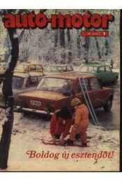 Autó-motor 1983. január-december (1-24. szám) - Régikönyvek