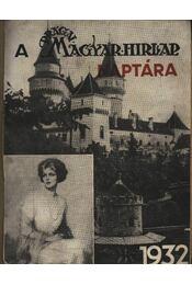 Págai Magyar Hírlap naptára 1932. évre - Régikönyvek