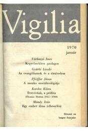 Vigilia 1970. év - Régikönyvek