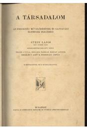 A társadalom - Régikönyvek