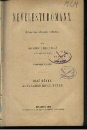 Neveléstudomány I-II. kötet - Régikönyvek