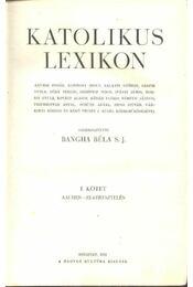 Katolikus lexikon I-IV. kötet - Régikönyvek