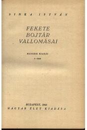 Fekete Bojtár vallomásai I-II. kötet - Régikönyvek