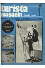 Turista magazin 1982.évfolyam - Régikönyvek