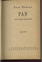 Pán - Régikönyvek