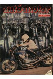 Autó-motor 1982. január-december - Régikönyvek
