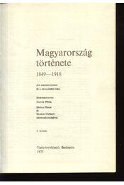 Magyarország története 1849-1918 - Régikönyvek