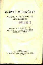 Magyar misekönyv - Régikönyvek