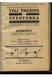 Téli tréning és svédtorna - Régikönyvek