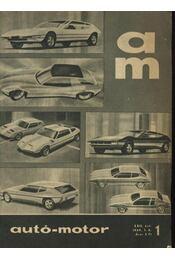 Autó-motor 1969. (teljes) - Régikönyvek