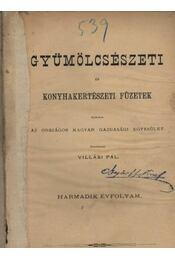 Gyümölcsészeti és konyhakerti füzetek 3. évfolyam - Régikönyvek