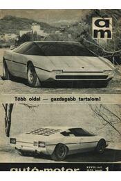 Autó-motor 1975. január-december (teljes, 1-24. szám) - Régikönyvek
