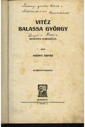 Vitéz Balassa György - Régikönyvek