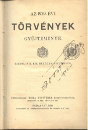 Az 1939. évi törvények gyűjteménye - Régikönyvek
