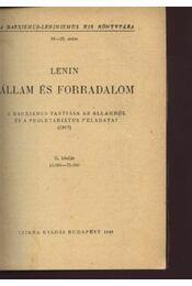 Állam és forradalom - Régikönyvek