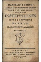 INSTITVTIONES - Régikönyvek