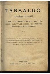 Társalgó - Régikönyvek