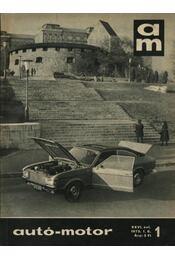 Autó-motor 1973. (teljes) - Régikönyvek