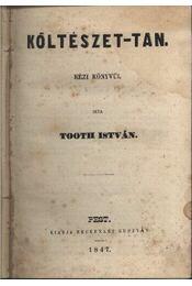 Költészet-tan - Régikönyvek