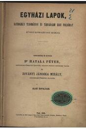 Egyházi lapok - Régikönyvek