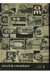 Autó-motor 1967. (teljes) - Régikönyvek