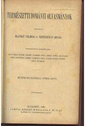 Természettudományi olvasmányok - Régikönyvek