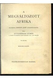 A megváltozott Afrika - Régikönyvek