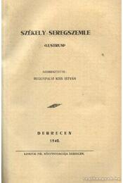 Székely seregszemle - Régikönyvek