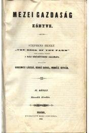 Mezei gazdaság könyve II. kötet - Régikönyvek