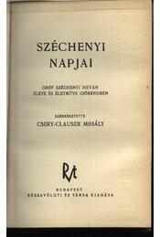 Széchenyi napjai - Régikönyvek