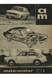 Autó-motor 1970. (teljes) - Régikönyvek