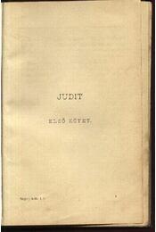 Judit - Régikönyvek
