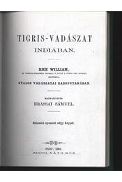 Tigris-vadászat Indiában - Régikönyvek
