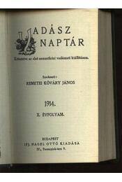 Vadász Naptár 1914.(mini) - Régikönyvek