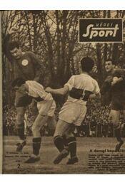 Képes sport 1957. IV. évfolyam 1-41. szám (hiányos) - Régikönyvek