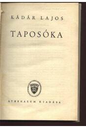 Taposóka - Régikönyvek
