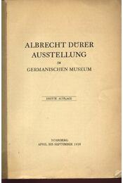 Albrecht Dürer Ausstellung - Régikönyvek