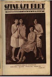 Szinházi élet 1928. 23. szám - Régikönyvek