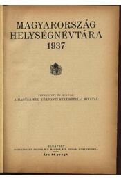 Magyarország helyiségnévtára - Régikönyvek