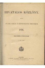 Hivatalos közlöny - Régikönyvek
