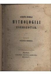 Görög-római mythologiai zsebszótár - Régikönyvek