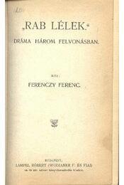 Ferenczy Ferenc összes művei I-III. - Régikönyvek