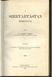 A szertartástan kézikönyve - Régikönyvek