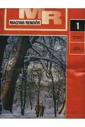 Magyar Rendőr 1981. év - Régikönyvek