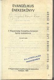 Evangélikus énekeskönyv - Régikönyvek
