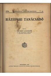 Háziipari tanácsadó - Régikönyvek